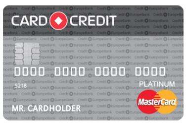 CARD CREDIT